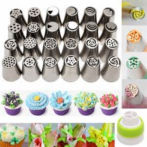 2016 russian icing piping nozzles tips cake decorating pastry tools set ebay