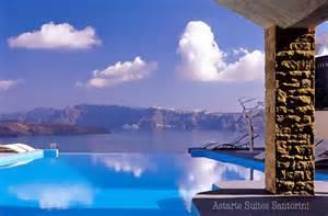 Infinity Pool Honeymoon Astarte Suites Santorini Greece Honeymoon Getaway