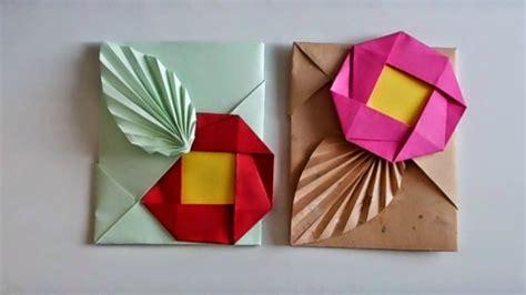 como decorar mis regalos sobre origami con hoja y flor para regalar dinero o