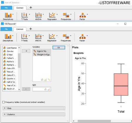 box plot maker software  windows