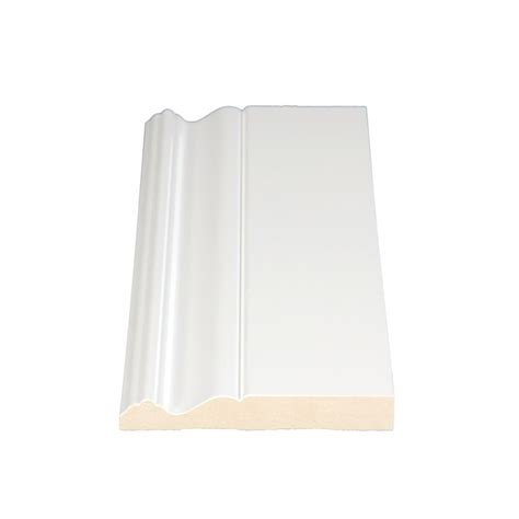 alexandria moulding primed fibreboard colonial base 11 16