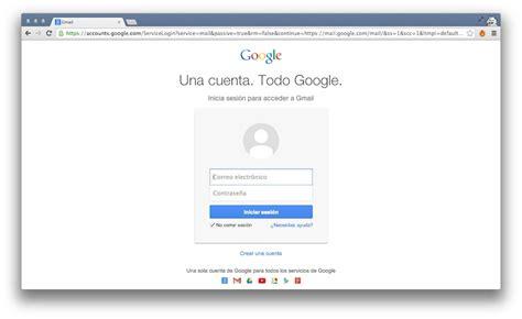 imagenes google cuenta crear cuenta gmail