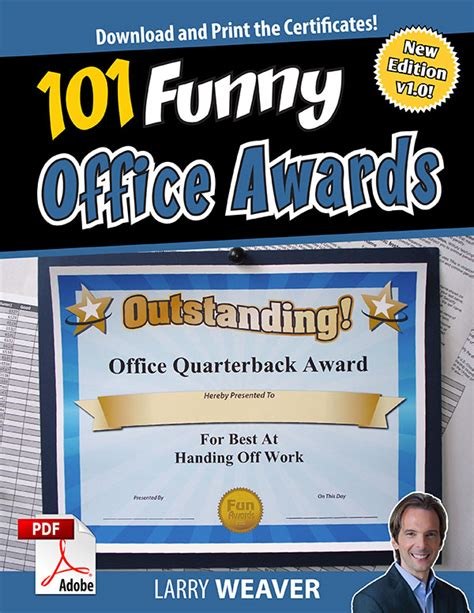 office awards 101 printable award certificates for