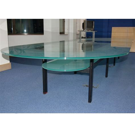 Glass Boardroom Tables Glass Boardroom Table 3m X 1 4m Oval Boardroom Table Glass Meeting Table