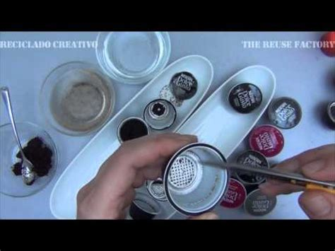 How to clean Black Dolce Gusto coffee capsules   Cómo limpiar cápsulas de café Negras de Dolce
