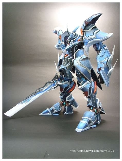 Mecha Papercraft - papercraftsquare new paper craft ancient armor