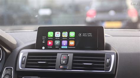 Apple X5 demonstratie en instructie apple carplay in uw bmw