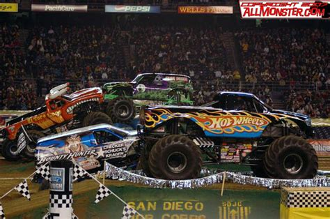 monster truck jam san diego san diego california monster jam january 20 2007