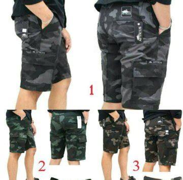 Celana Pendek Altic Pria Geser jual celana cargo pendek army di lapak ok fashion