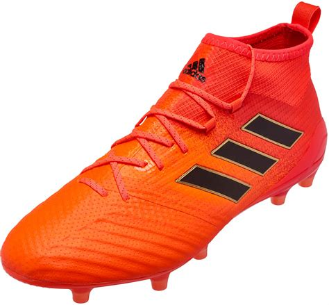 One Fg Black Orange adidas ace 17 1 fg solar orange black