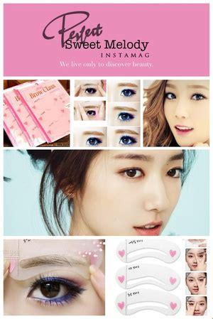 Mini Eyebrow Class Stencils Cetakan Alis Isi 3 cetakan alis mini brow class isi 3 365 produk albc
