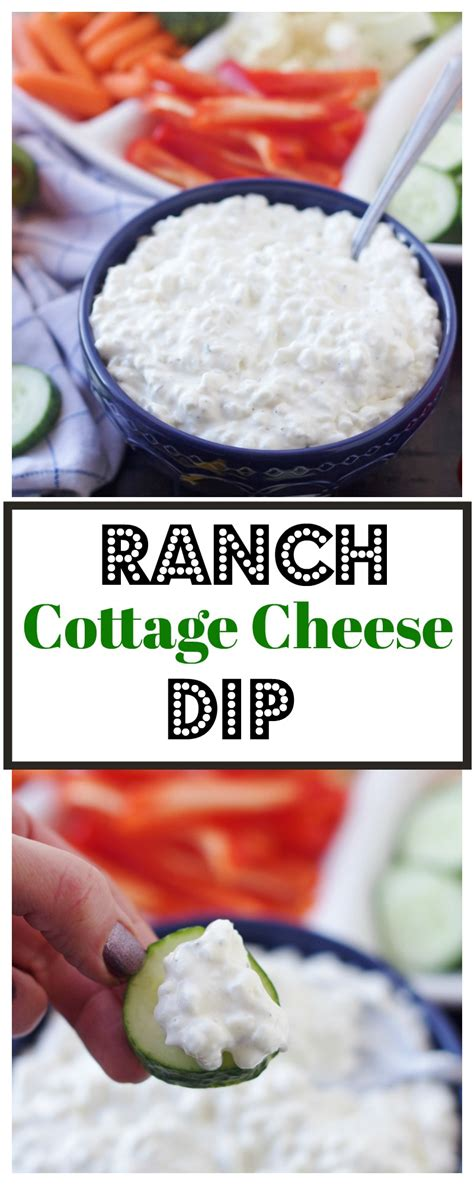 Ranch Cottage Cheese Dip 5 Boys Baker Cottage Cheese Dip For Crackers