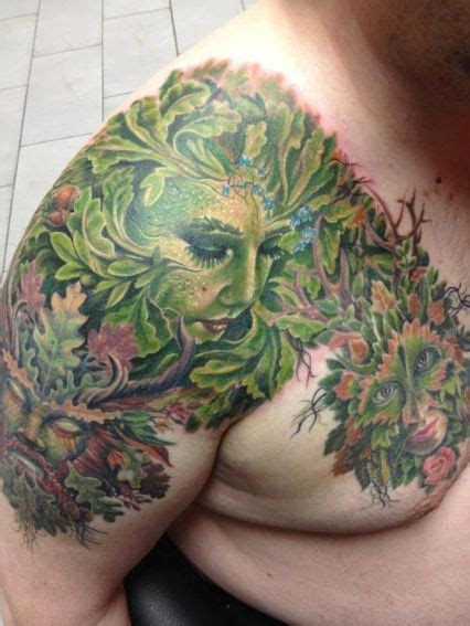 mother nature tattoo designs nature done by randy engelhard pierced