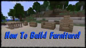 minecraft xbox 360 tutorial how to make furniture