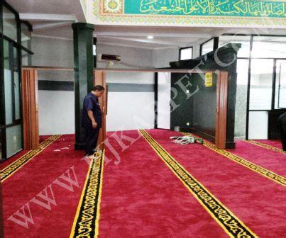 Karpet Masjid Tangerang pemasangan karpet masjid pelayanan pajak tangerang hjkarpet