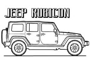 jeep printable coloring pages