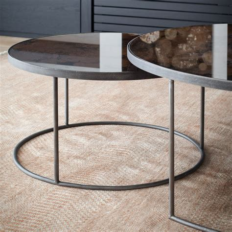 table ls set of 2 notre monde nesting coffee table set of 2 houseology