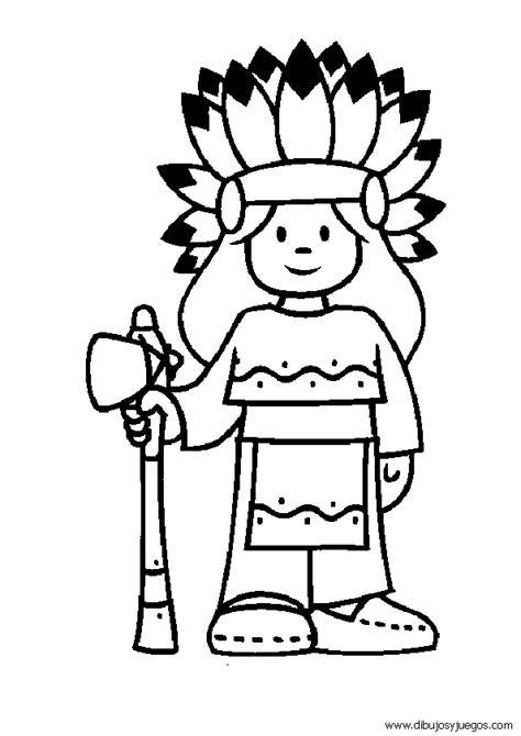 imagenes mayas para pintar dibujos infantiles de indios para colorear imagui