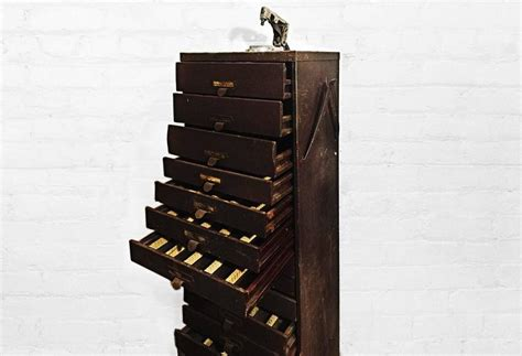 Germanow and Simon Multi Drawer Storage Cabinet, circa