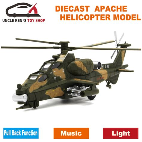 Helicopter Metal Model diecast apache helicopter metal model aircraft