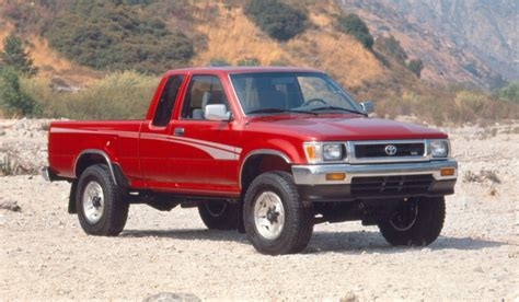 toyota deals now then and now toyota tacoma 1995 toyota tacoma 2016