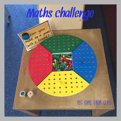 new year maths for eyfs maths challenge using felix peg board from olifu early