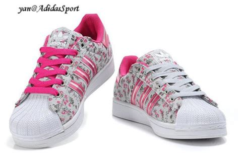 shoes pink floral adidas wheretoget