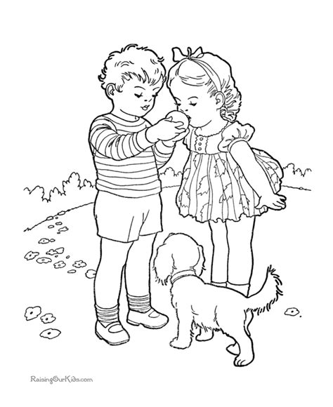 coloring page of st valentine st valentine day picture 051