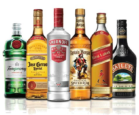 alcoholic drinks bottles bottles transparent png stickpng