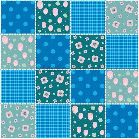 quilt pattern vector patchwork quilt pattern design vector image 1959097