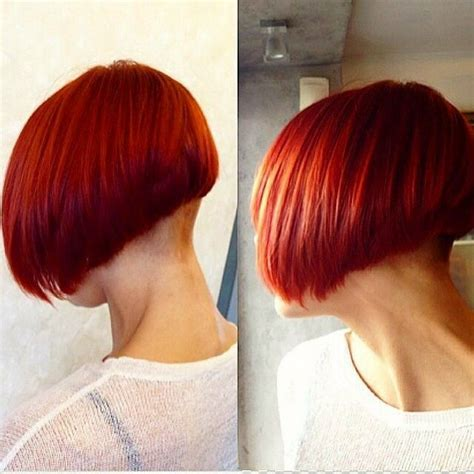 short stacked bob haircut shaved 161 best images about new clippered nape bob and nuveau