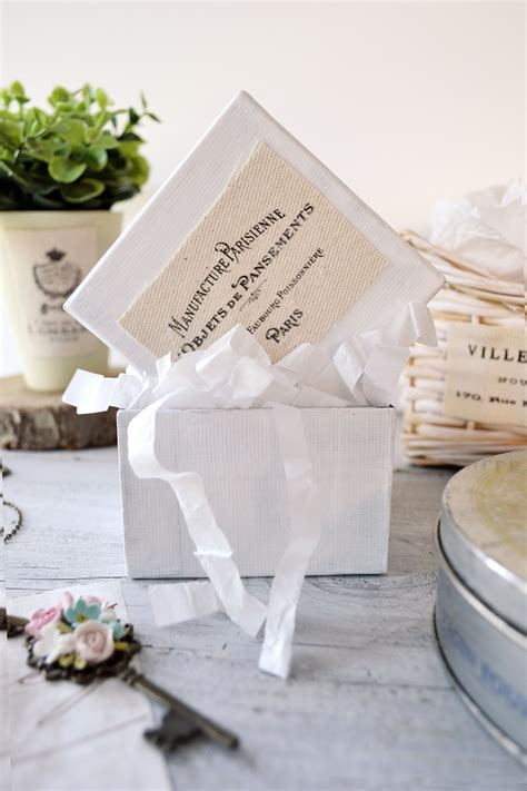 give your home decor some zing for only a little bling diy french ephemera fabric labels the iron on transfer