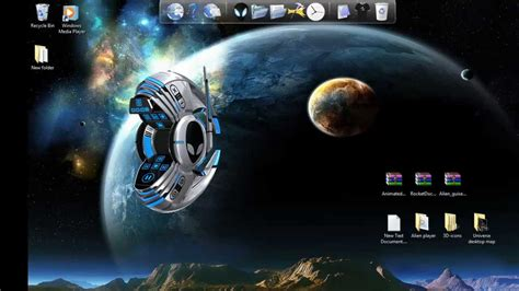 themes pc 3d windows 7 theme how to install animated 3d icons for
