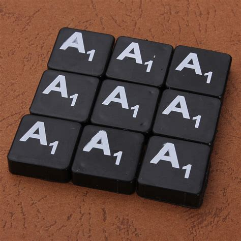 plastic scrabble tiles plastic scrabble tiles letters numbers back with