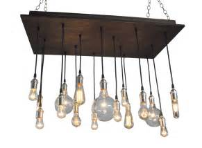 rustic industrial chandelier 16 bare bulb pendant rustic chandelier industrial lighting