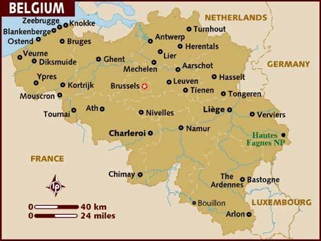 belgium maps map of belgium
