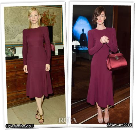 Who Wore Better Carpet Style Awards by Who Wore Gucci Better Cate Blanchett Or Paz