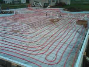 concrete floor heating learn the about radiant heat