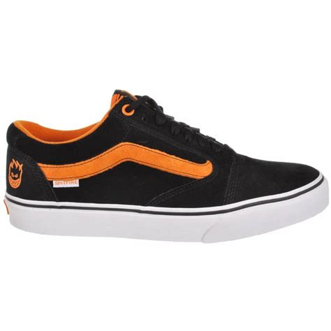 vans skate shoes vans vans tnt 5 spitfire black skate shoes vans