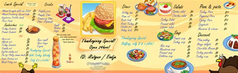 Menu For Winners Announced by Forum Contest Create A 6 Course Meal And Menu Winners