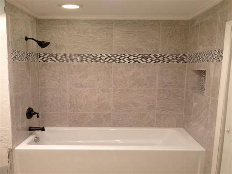 bathtub tiles 1000 ideas about tub tile on tub remodel