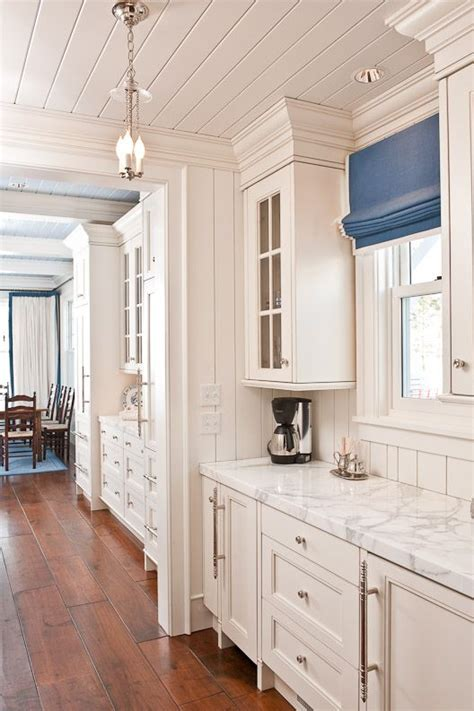 tongue and groove kitchen cabinets white tongue n groove ceiling in kitchen and painted light