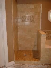 Inexpensive Kitchen Remodel Ideas master bathroom travertine tile shower tub floor