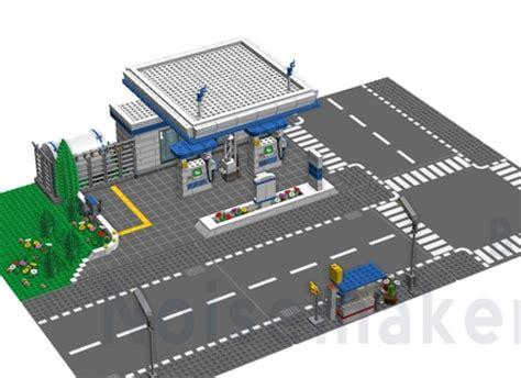 city plates lego ideas hydrogen fuel station