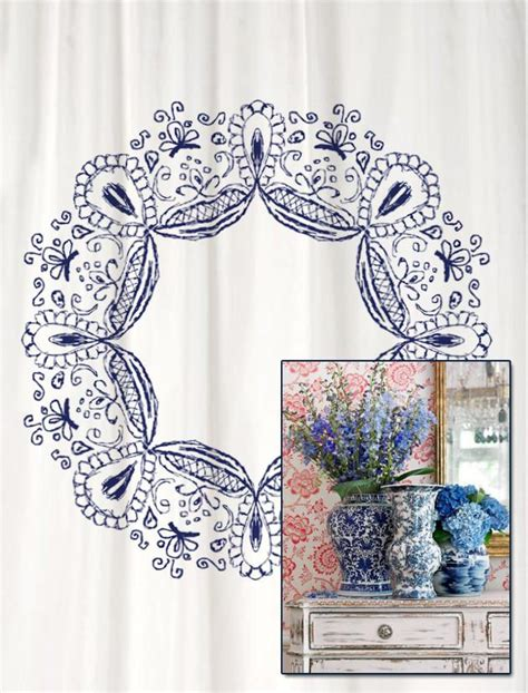 original shower curtains shower curtain original henna inspired swirl ink design in