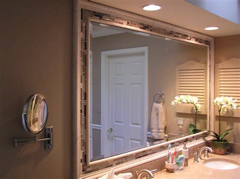 mirror ideas for bathrooms bathroom vanity mirror ideas large and beautiful photos