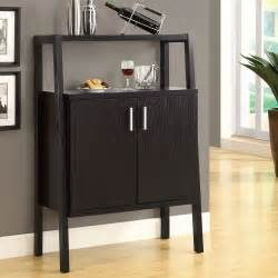 Bar Cabinet Furniture by Monarch Specialties I 2544 Wine Storage Bar Cabinet Atg
