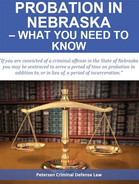 Can You Serve In The With A Criminal Record Free Report Probation In Nebraska What You Need To
