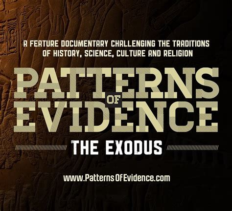 pattern of evidence theaters the kesher forum justin kron