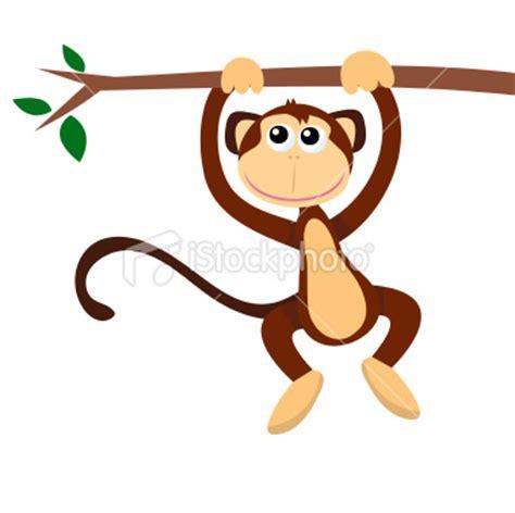 how to draw a swinging monkey cartoon monkey hanging on tree monkeys pinterest